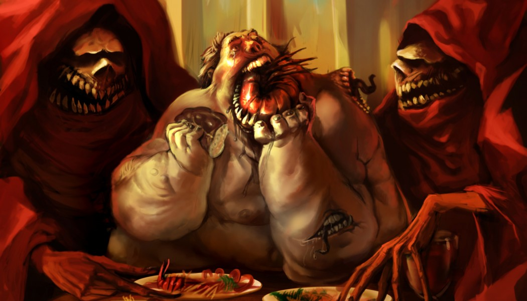 Confronting the Demon of Gluttony